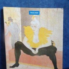 Libros de segunda mano: HENRI DE TOULOUSE-LAUTREC. Lote 114522483