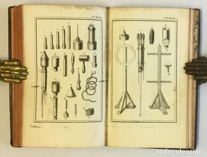 Libros de segunda mano: ESSAY SUR LES FEUX D'ARTIFICE ET POUR LA GUERRE. - [PERRINET D'ORVAL Jean-Charles.] 1745 - Foto 8 - 114799632