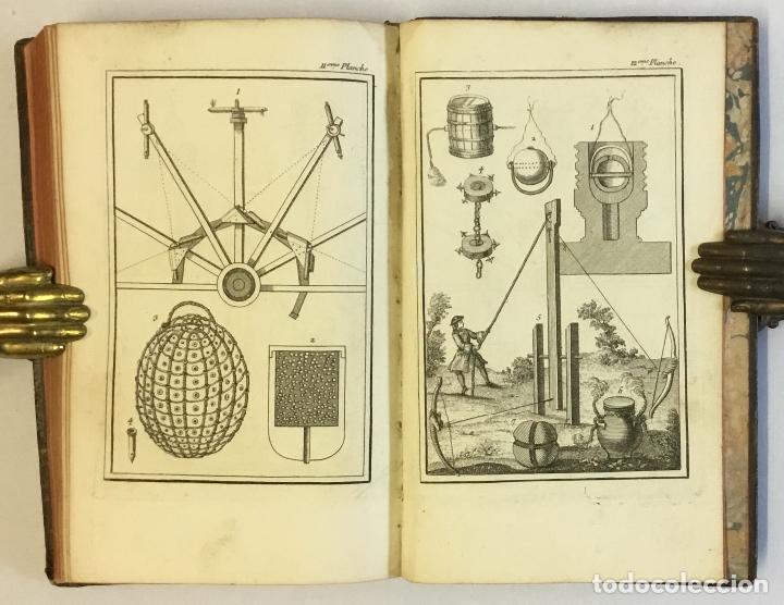 Libros de segunda mano: ESSAY SUR LES FEUX D'ARTIFICE ET POUR LA GUERRE. - [PERRINET D'ORVAL Jean-Charles.] 1745 - Foto 13 - 114799632