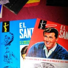 Livros em segunda mão: EL SANTO TOMOS I Y II DE LA FAMOSA SERIE DE TV ROGER MOORE 1969. Lote 114815200