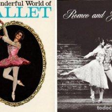 Libros de segunda mano: THE WONDERFUL WORLD OF BALLET / PHOTOGRAPHED BY MIKE DAVIS. . Lote 114820039