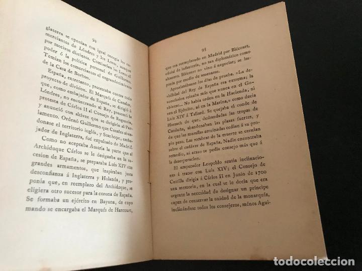 Libros de segunda mano: POSTRIMERIAS DE LA CASA DE AUSTRIA EN ESPAÑA. CONFERENCIAS PRONuncIADAS EN EL ATENEO DE MADRID - Foto 3 - 114902367