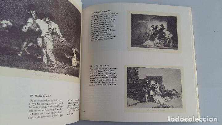 Libros de segunda mano: GOYA. CAPRICHOS DESASTRES TAUROMAQUIA DISPARATES. FUNDACION JUAN MARCH. 1979. W - Foto 2 - 114971099