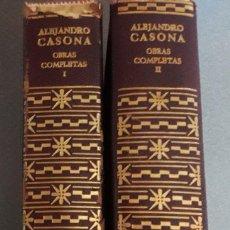 Libros de segunda mano: OBRAS COMPLETAS ALEJANDRO CASONA. Lote 114986903