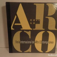 Libros de segunda mano: ARCO 99: FERIA INTERNACIONAL DE ARTE CONTEMPORANEO, INTERNATIONAL CONTEMPORARY ART FAIR. Lote 115043283