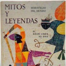 Libros de segunda mano: A. T. WHITE - MARAVILLAS DEL MUNDO. MITOS Y LEYENDAS. GAISA, 1968.. Lote 115073455