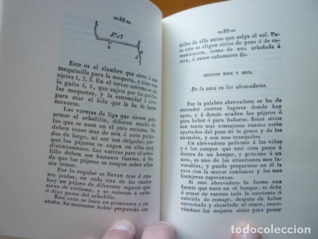Libros de segunda mano: LA AVICEPTOLÓGIA O MANUAL COMPLETO DE CAZA Y PESCA - Jose Maria Tenorio - EDICION FACSIMIL OVIEDO 20 - Foto 4 - 115096599