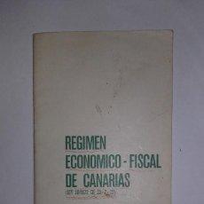 Libros de segunda mano: REGIMEN ECONÓMICO FISCAL DE CANARIAS -- BANCO DE SANTANDER - 1972 - ESCASO. Lote 115182047