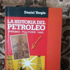 Libros de segunda mano: HISTORIA DEL PETROLEO (PREMIO PULITZER 1992), DE DANIEL YERGIN. PLANETA, 1992. EXCELENTE ESTADO.. Lote 115194591