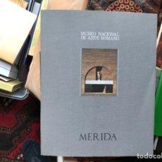 Libros de segunda mano: MUSEO NACIONAL DE ARTE ROMANO. MÉRIDA. Lote 115201026