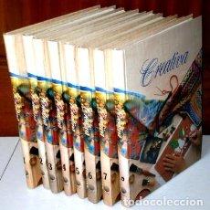 Libros de segunda mano: CREATIVA 8T MANUALIDADES, LABORES, ARTESANÍA DE ED. PLANETA AGOSTINI EN BARCELONA 1990. Lote 115342091