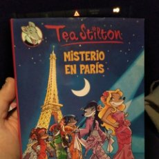 Libros de segunda mano: LIBRO TEA STILTON TAPA DURA MISTERIO EN PARIS . Lote 115372931