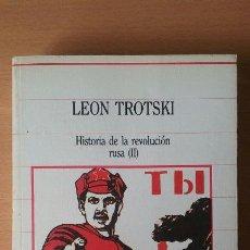 Libros de segunda mano: HISTORIA DE LA REVOLUCIÓN RUSA II. LEON TROTSKI. SARPE. Lote 115384387