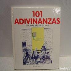 Libros de segunda mano: 101 ADIVINANZAS - JOSÉ MANUEL GÓMEZ PARÍS - MARCELO SPOTTI - ZE ZUGARTO EDICIONES 1992. Lote 115406635
