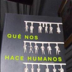 Libros de segunda mano: QUE NOS HACE HUMANOS. MATT RIDLEY. TAURUS 2004.. Lote 115407091