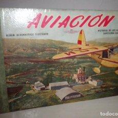 Libros de segunda mano: AVIACION, ALBUM AERONAUTICO, HISTORIAL DE LOS AEREOS CLUBS BARCELONA-SABADELL 1953.. Lote 115408387