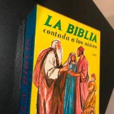 Libros de segunda mano: LA BIBLIA CONTADA A LOS NIÑOS. DOS TOMOS. OBRA COMPLETA. Lote 115413239
