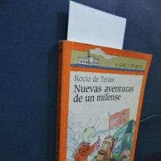Libros de segunda mano: NUEVAS AVENTURAS DE UN MIFENSE. DE TERÁN, ROCÍO. COL. EL BARCO DE VAPOR. ED. SM. MADRID 1990. Lote 115448799