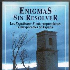 Libros de segunda mano: ENIGMAS SIN RESOLVER - IKER JIMENEZ - ILUSTRADO *. Lote 115459039