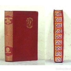 Libros de segunda mano: FERNÁNDEZ FLÓREZ (WENCESLAO).– OBRAS COMPLETAS. TOMO III (3). AGUILAR, COL. JOYA, 1955. EN PIEL. Lote 115464679