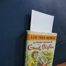 Libros de segunda mano: LOS TRES DESEOS Y OTROS CUENTOS. TOMO 7. BLYTON, ENID. ED. TORAY. BARCELONA 1984. Lote 115467835