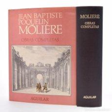 Libros de segunda mano: OBRAS COMPLETAS - MOLIÈRE, JEAN BAPTISTE POQUELIN. Lote 115482808