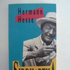 Libros de segunda mano: SIDDHARTHA. HERMANN HESSE. Lote 115500731