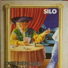 Libros de segunda mano: SILO. EXPERIENCIAS GUIADAS.. Lote 115522427