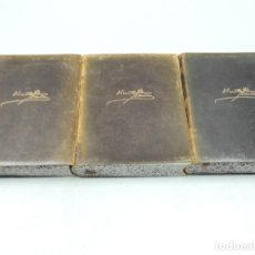 Libros de segunda mano: COLECCION TRES TOMOS OBRAS COMPLETAS VICENTE BLASCO IBÁÑEZ AGUILAR 1949. Lote 126590034