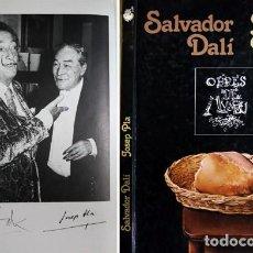 Libros de segunda mano: PLA, JOSEP. SALVADOR DALÍ. BARCELONA, DASA EDICIONES, 1981. NUMEROSAS ILUSTRACIONES.. Lote 115544327