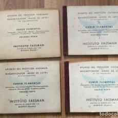 Libros de segunda mano: APUNTES DEL PROFESOR FASSMAN Y DEL MAGNETIZADOR MANU DE LUTXI. CURSO ELEMENTAL.. Lote 115553215
