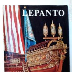 Libros de segunda mano: LIBROS HISTORIA ESPAÑA SIGLO XVI LEPANTO LA BATALLA LA GALERA REAL RECUERDOS RELIQUIAS MARTÍNEZ HID. Lote 115474350