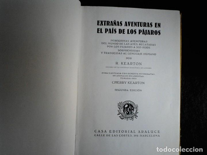 Libros de segunda mano: Extrañas aventuras en el pais de los pajaros - Foto 2 - 115605175