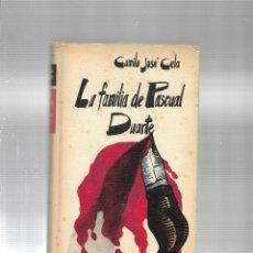 Libros de segunda mano: LA FAMILIA DE PASCUAL DUARTE - CAMILO JOSE CELA - CIRCULO DE LECTORES - 1972. Lote 115608355