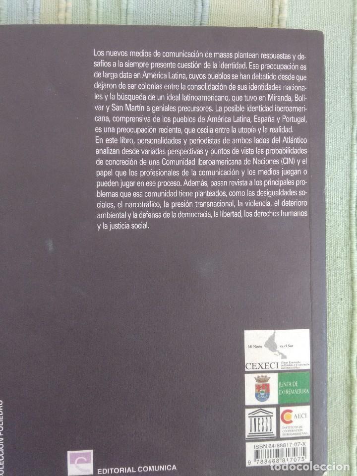 Libros de segunda mano: IDENTIDAD Y NUEVOS MEDIOS: La comunicación en la utopía o realidad ibeoramericana. ALICIA FRAERMAN - Foto 2 - 115609435
