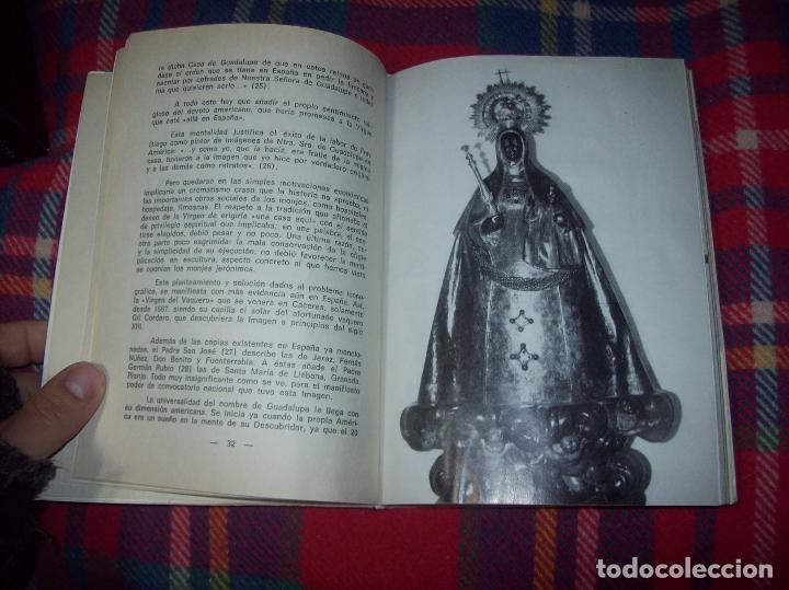 Libros de segunda mano: ICONOGRAFÍA DE NUESTRA SEÑORA DE GUADALUPE,EXTREMADURA. JOAQUÍN MONTES. 1978. EJEMLPAR BUSCADÍSIMO!! - Foto 6 - 115631263