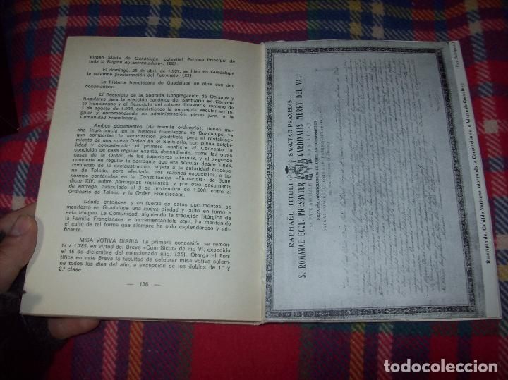 Libros de segunda mano: ICONOGRAFÍA DE NUESTRA SEÑORA DE GUADALUPE,EXTREMADURA. JOAQUÍN MONTES. 1978. EJEMLPAR BUSCADÍSIMO!! - Foto 20 - 115631263