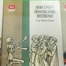 Libros de segunda mano: LIBRO APARICIONES Y DESAPARICIONES MISTERIOSAS -R. BRENN ESOTERISMO MISTERIO BARCOS ATLÁNTIDA ETC. Lote 115636347