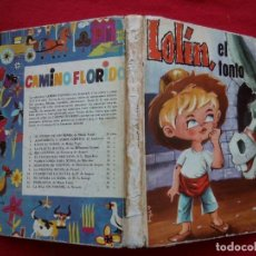 Libros de segunda mano: TUBAL LOLIN EL TONTO CUENTO INFANTIL MARIO YUSTE 1964 20 CM 450 GRS. Lote 115651995