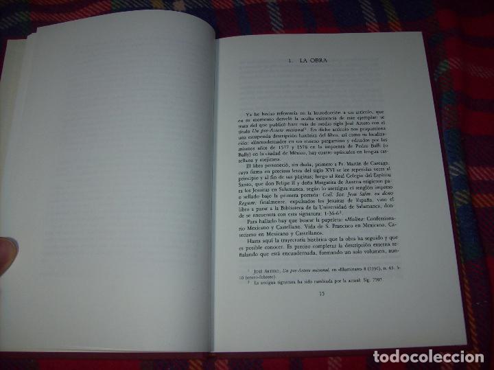 Libros de segunda mano: DOCTRINA CRISTIANA MUY ÚTIL Y NECESARIA.MÉXICO 1578. FRANCISCO DE PAREJA. 1ª EDICIÓN 1990. SALAMANCA - Foto 4 - 115663867