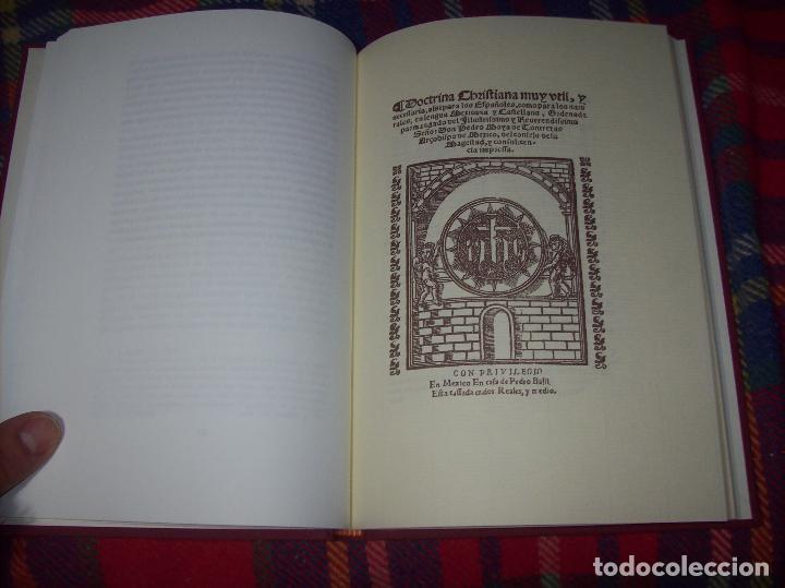 Libros de segunda mano: DOCTRINA CRISTIANA MUY ÚTIL Y NECESARIA.MÉXICO 1578. FRANCISCO DE PAREJA. 1ª EDICIÓN 1990. SALAMANCA - Foto 8 - 115663867