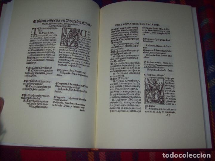 Libros de segunda mano: DOCTRINA CRISTIANA MUY ÚTIL Y NECESARIA.MÉXICO 1578. FRANCISCO DE PAREJA. 1ª EDICIÓN 1990. SALAMANCA - Foto 9 - 115663867