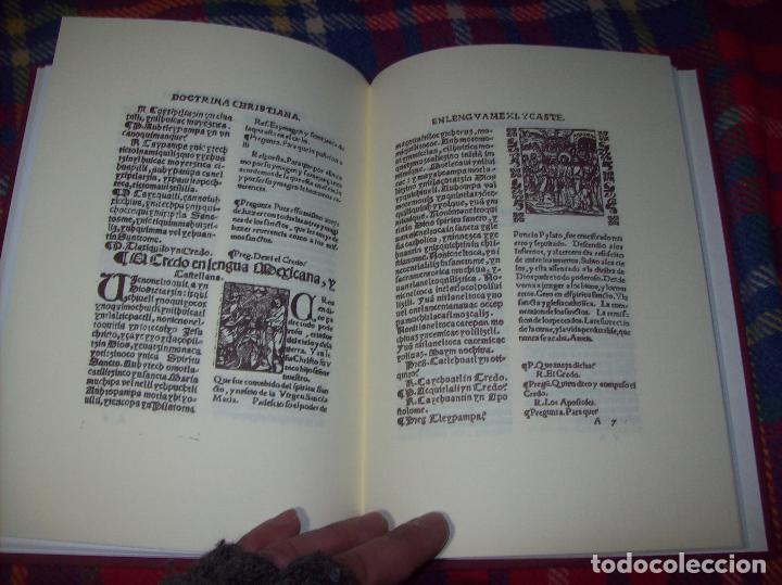 Libros de segunda mano: DOCTRINA CRISTIANA MUY ÚTIL Y NECESARIA.MÉXICO 1578. FRANCISCO DE PAREJA. 1ª EDICIÓN 1990. SALAMANCA - Foto 11 - 115663867