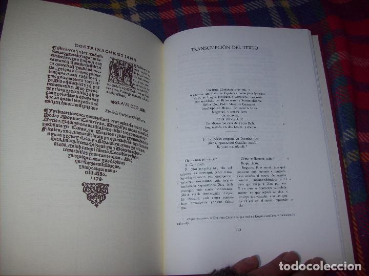 Libros de segunda mano: DOCTRINA CRISTIANA MUY ÚTIL Y NECESARIA.MÉXICO 1578. FRANCISCO DE PAREJA. 1ª EDICIÓN 1990. SALAMANCA - Foto 14 - 115663867