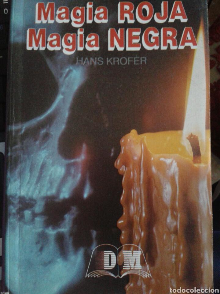 MAGIA ROJA. MAGIA NEGRA, HANS KROFER (Libros de Segunda Mano - Parapsicología y Esoterismo - Otros)
