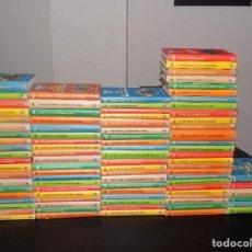 Libros de segunda mano: CLUB JOVEN BRUGUERA LOTE DE 91 LIBROS DIFERENTES- SOLO FALTAN 9 PARA COMPLETAR LA COLECCION. Lote 115742879