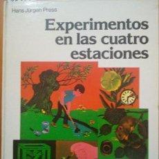 Libros de segunda mano: EXPERIMENTOS EN LAS CUATRO ESTACIONES. - VV.AA.. Lote 73785103