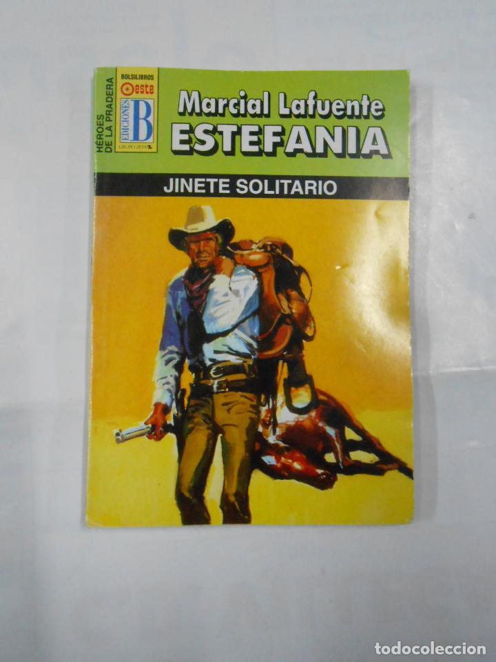 MARCIAL LAFUENTE ESTEFANIA Nº 1098. JINETE SOLITARIO. SERIE HEROES DE LA PRADERA TDK309 (Libros de Segunda Mano (posteriores a 1936) - Literatura - Otros)