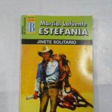 Libros de segunda mano: MARCIAL LAFUENTE ESTEFANIA Nº 1098. JINETE SOLITARIO. SERIE HEROES DE LA PRADERA TDK309. Lote 115898843