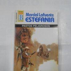 Libros de segunda mano: MARCIAL LAFUENTE ESTEFANIA Nº 1051. PASTOS PELIGROSOS. SERIE COLECCION EL VIRGINIANO. TDK309. Lote 115910387